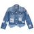 Minimome Fashion Jeans Jacket in Acid Wash Denim