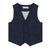 Minimome Tailored Vest Casual Chic in Denim Look