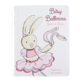 Jellycat Bitsy Ballerina Learns to Dance Book