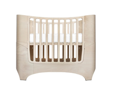 Leander 4-in-1 Convertible Baby Crib in with Essentia Mattress