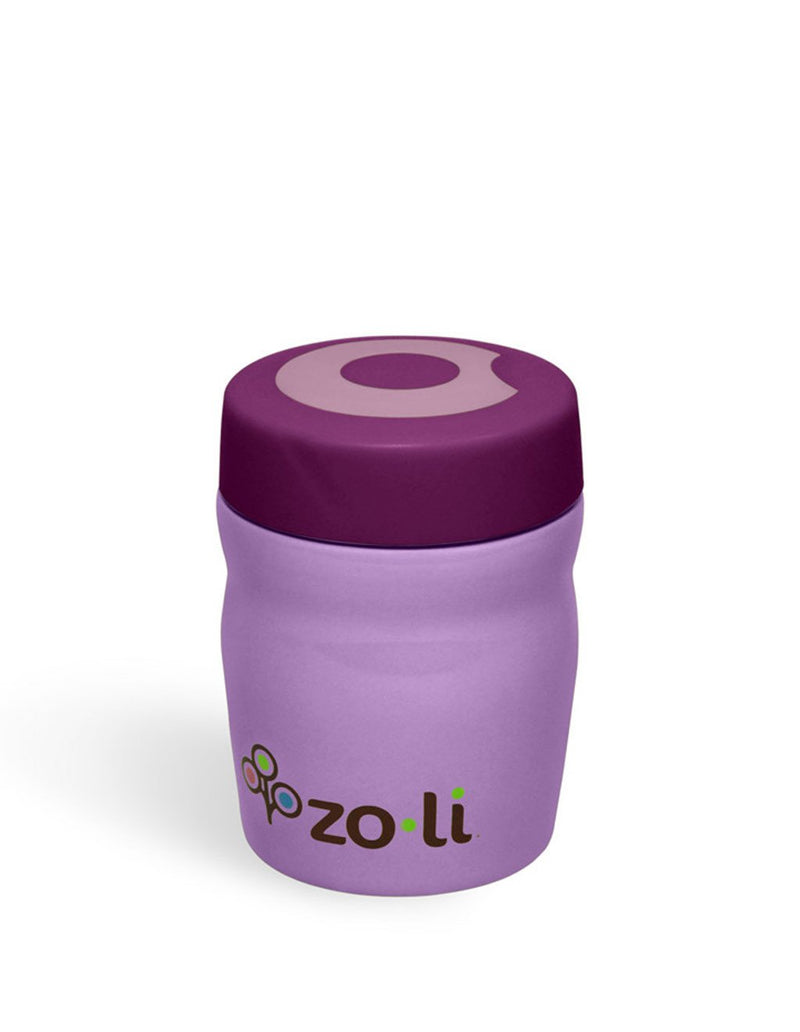 ZoLi Dine 12oz Vacuum Insulated Food Jar in Purple