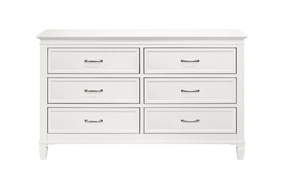 MDB Darlington Double Dresser in Warm White