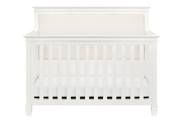Million Dollar Baby Classic Darlington 4-in-1 Convertible Crib in Warm White