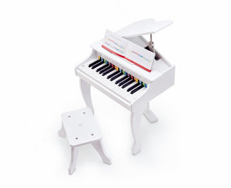 Hape Deluxe Grand Piano (White)