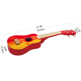 Hape Ukelele in Red