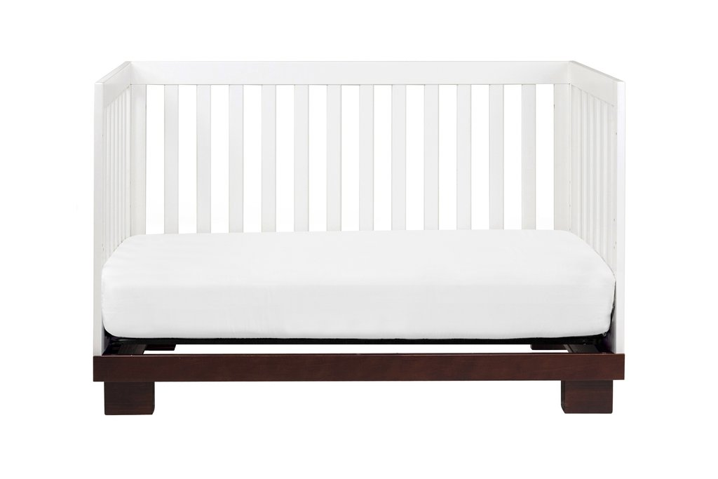 Babyletto Modo 3 in 1 Convertible Wood Crib with Toddler Rail