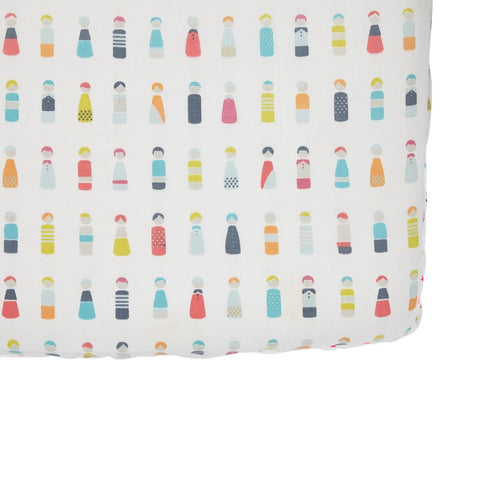 Pehr Designs Crib Sheets in Little peeps
