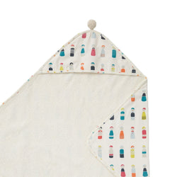 Pehr Designs Hooded Towels in Little peeps