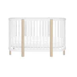 Babyletto Hula oval convertible crib with mini/bassinet conversion