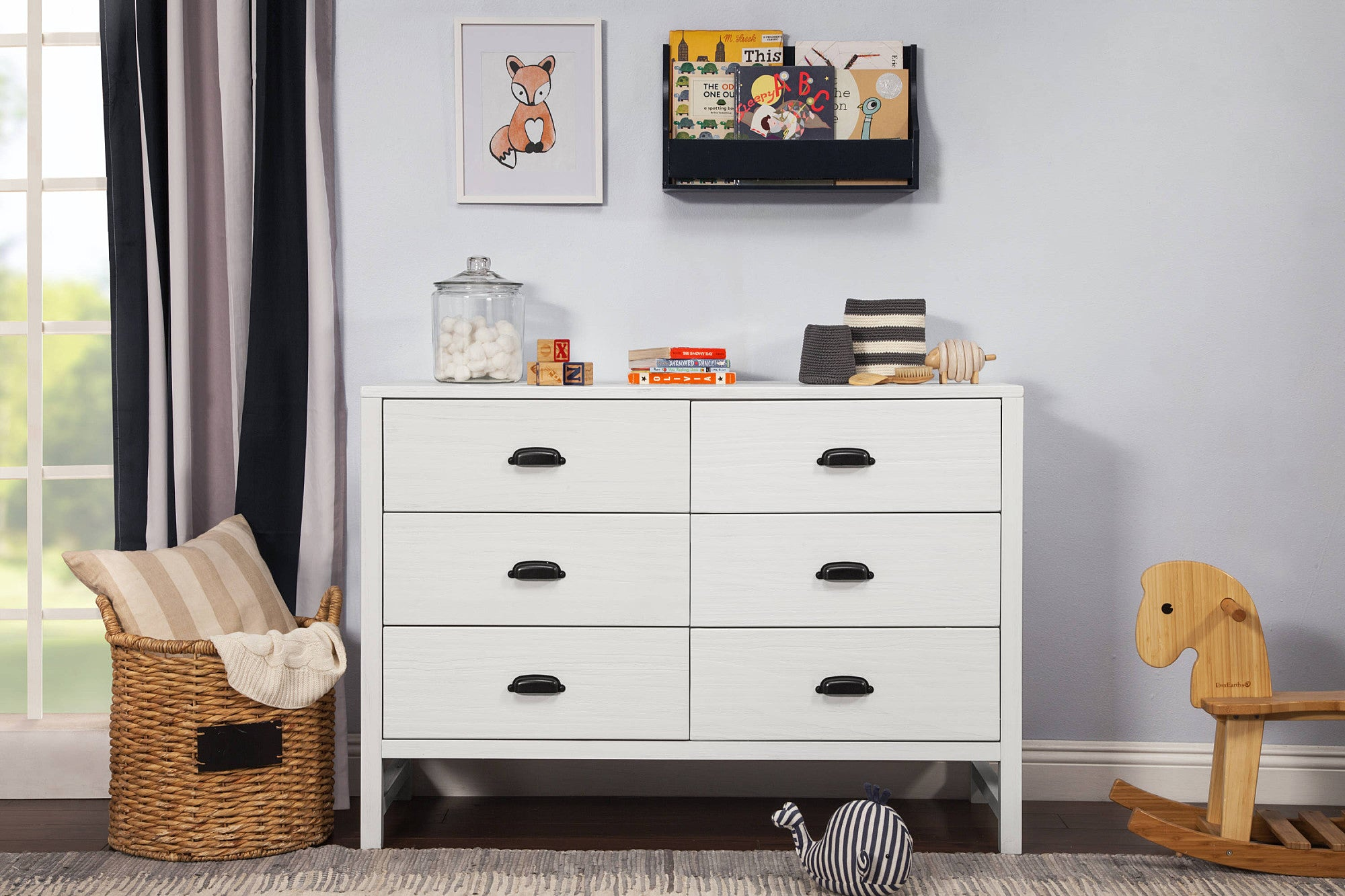 DaVinci Fairway 6 Drawer Double Dresser Without Removable Changing