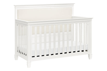 MDB Darlington 4 in 1 Crib in Warm White