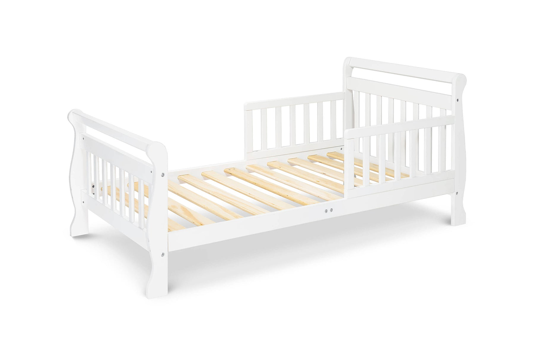 DaVinci Wood Sleigh Toddler Bed in Ebony – Lusso Kids Inc.