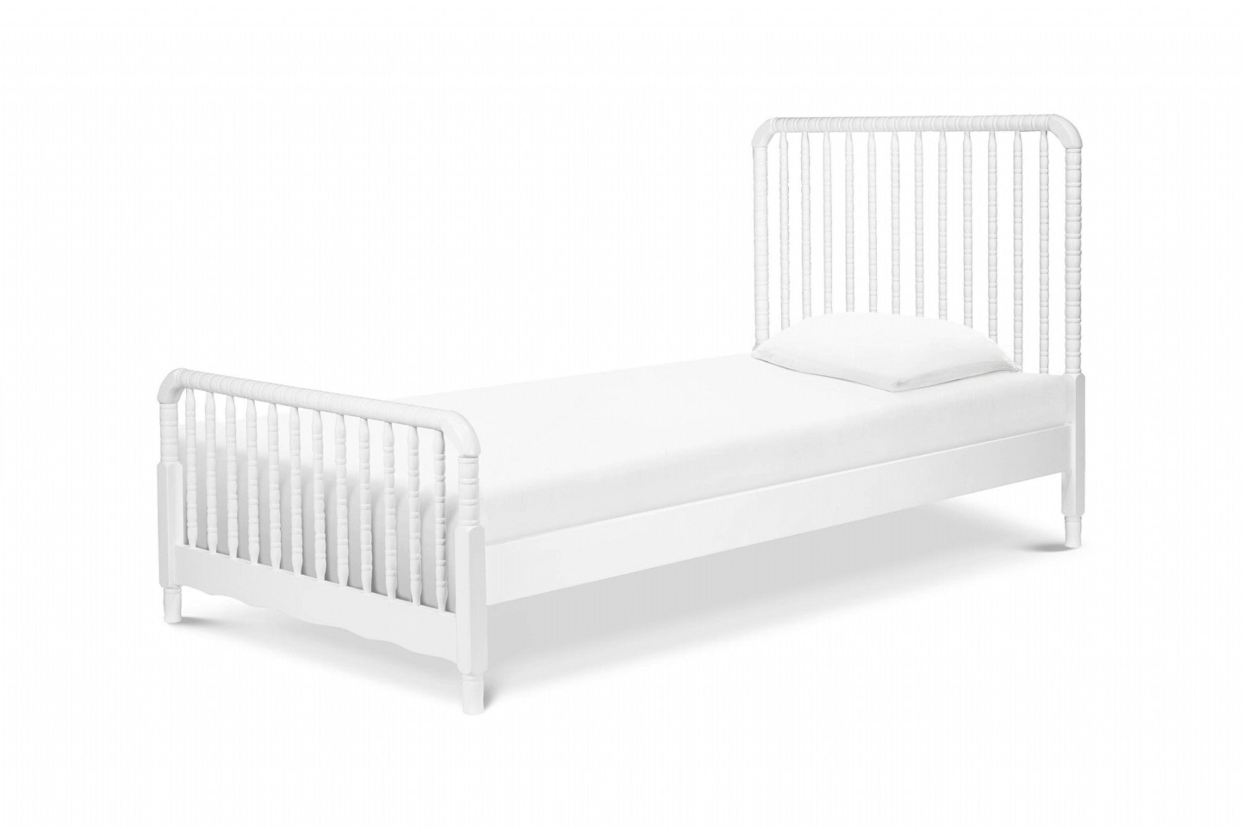 Davinci Jenny Lind Twin Bed in White