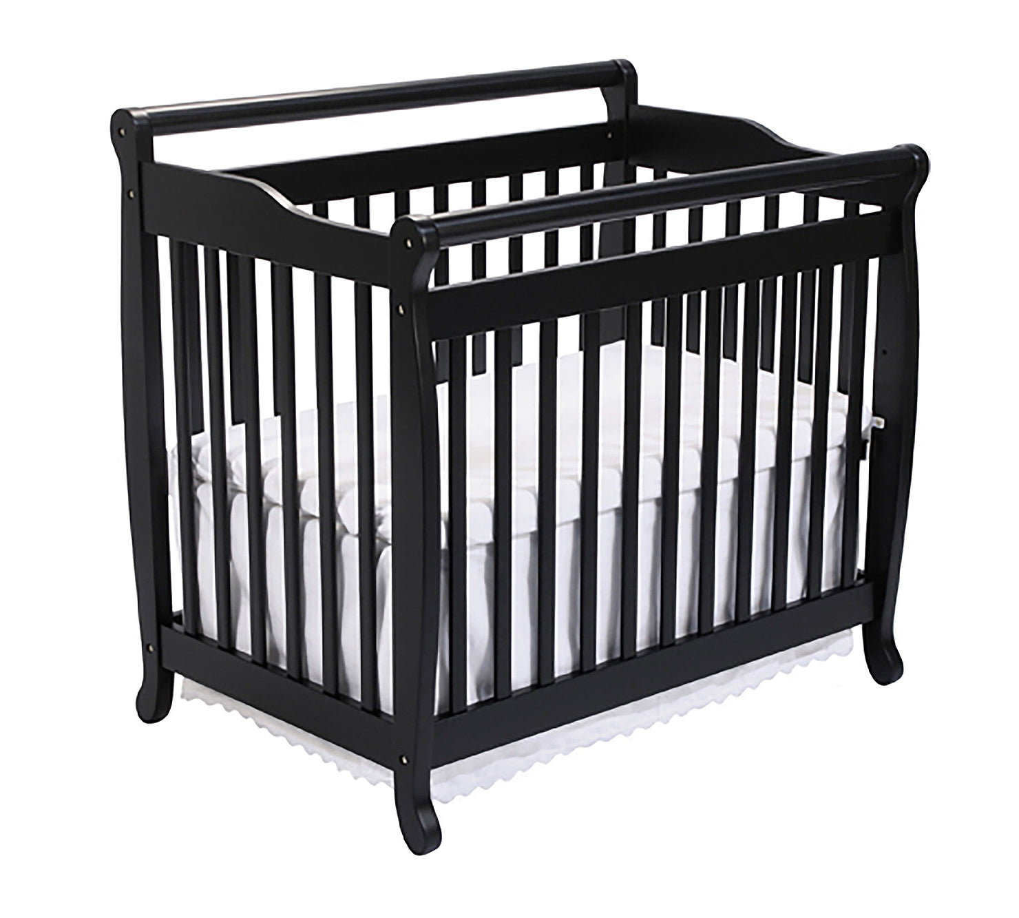 DaVinci Emily Mini 2-in-1 Convertible Wood Baby Crib
