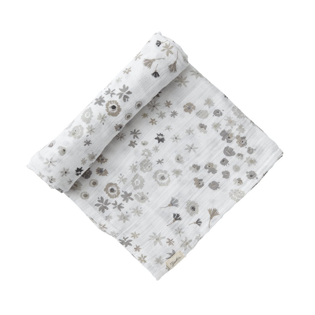 Pehr Designs Swaddles in Monochrome Meadow