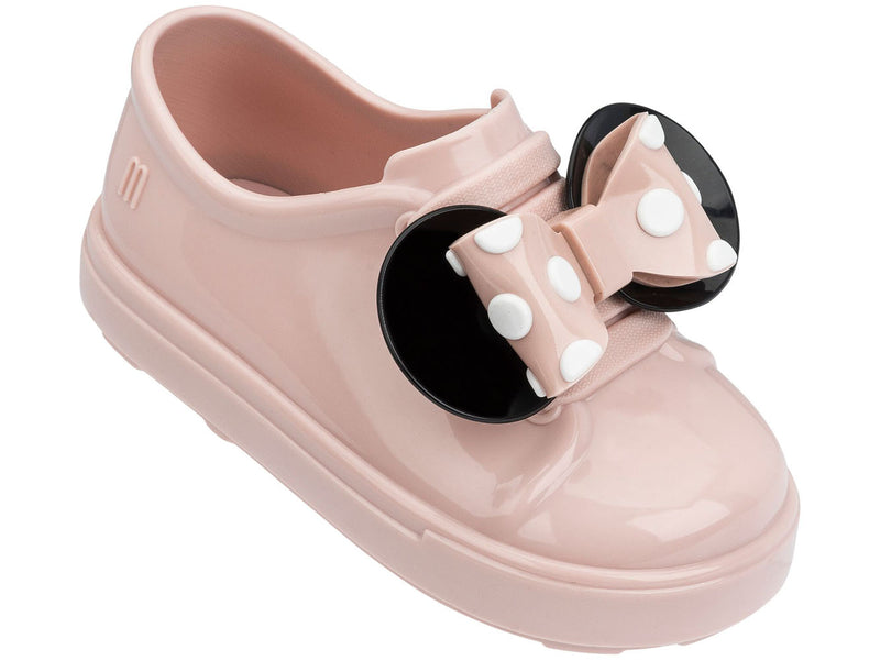 MINI MELISSA BE+MINNIE BB SHOE PINK BLACK