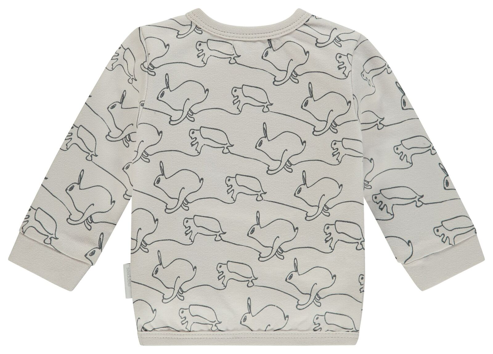 Noppies Unisex Sweater Ls Tavares Aop in Dove