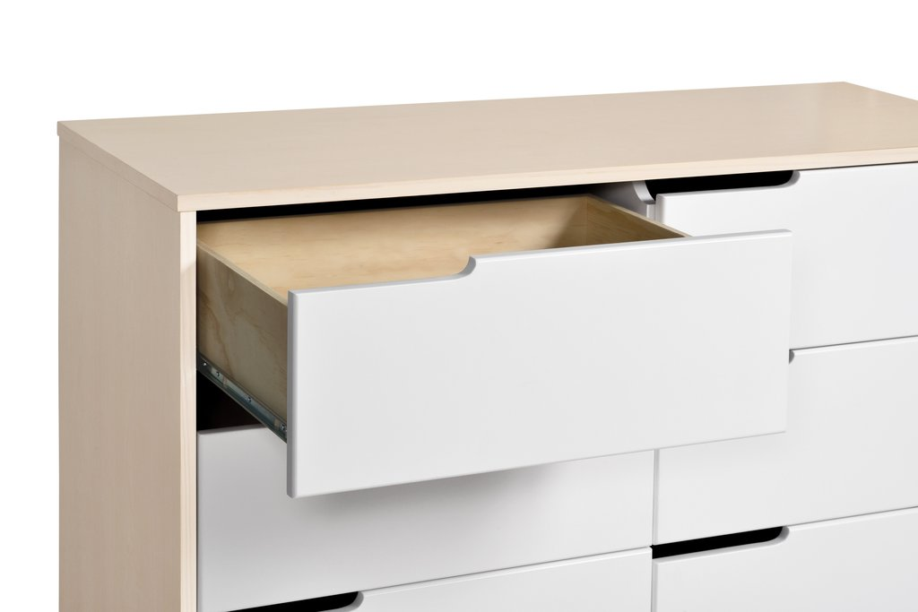 Babyletto Hudson  6 Drawer Double Dresser Without Removable changing tray