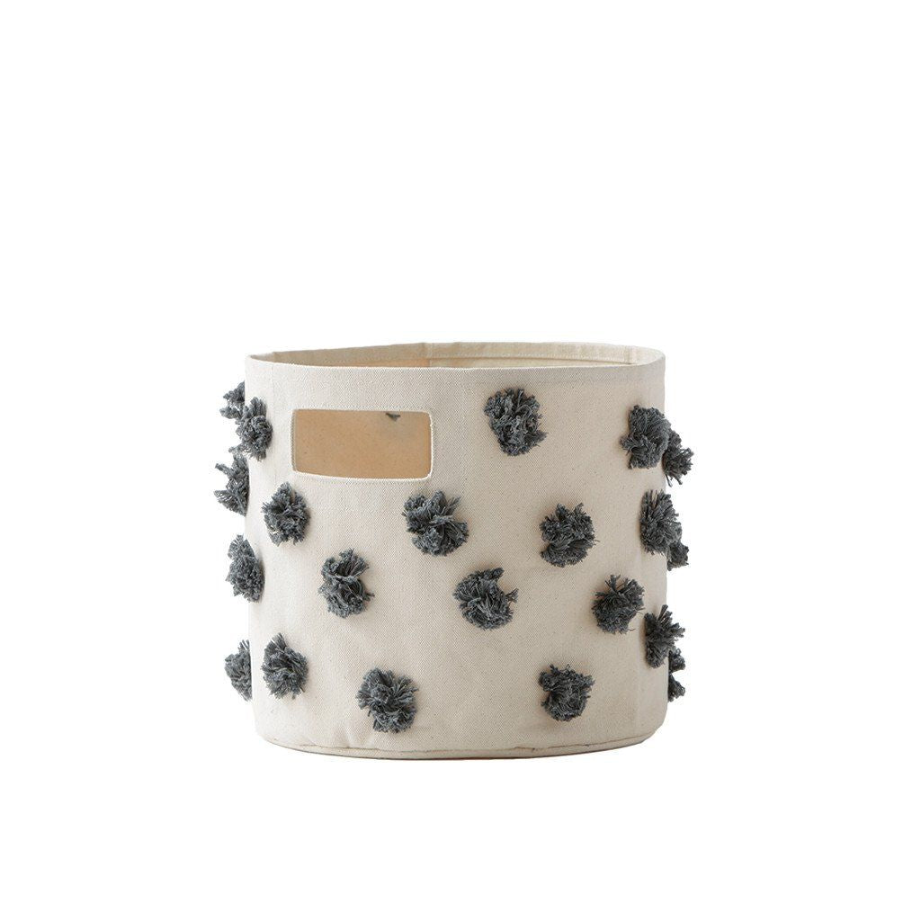 Pehr Designs STORAGE CONT'D in POM POM Charcoal