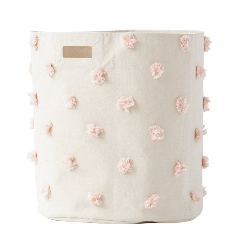 Pehr Pom Pom Hamper in Blush