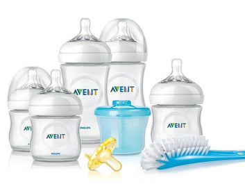Philips Avent Natural Infant Glass Bottle Starter Set