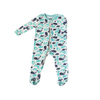 Silkberry Baby Bamboo Footies with Easy Dressing Zipper