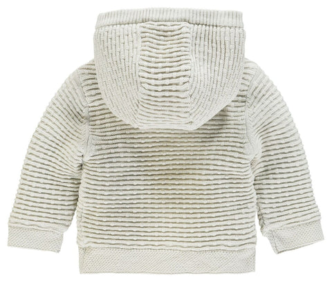 Noppies Unisex Cardigan Knit Ls Texas In Dove