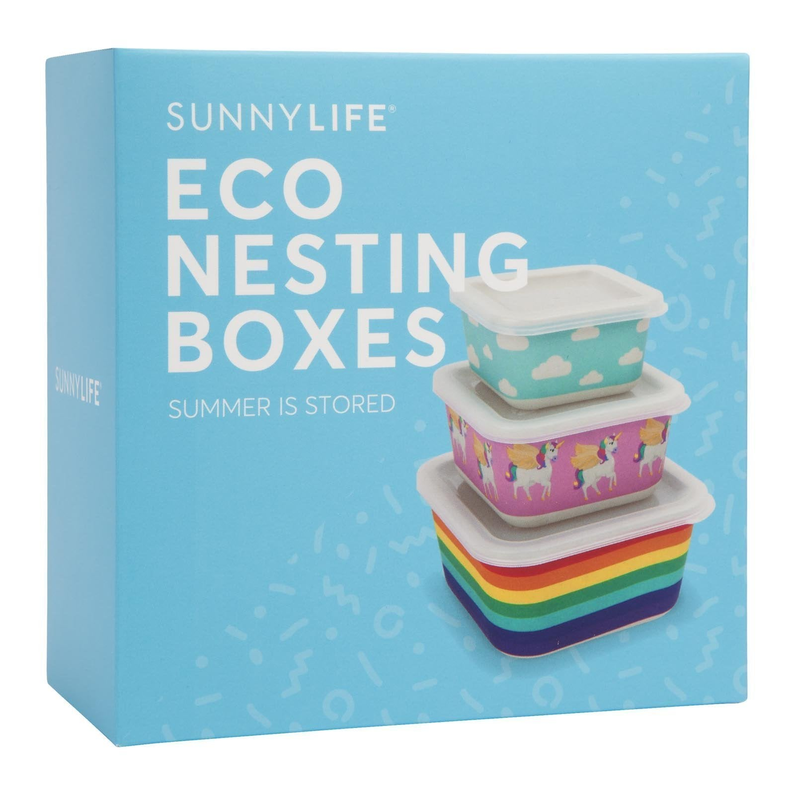 Sunnylife Eco Nesting Boxes Wonderland Set of 3