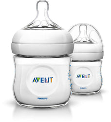 Avent Natural Bottle 4oz Twinpack