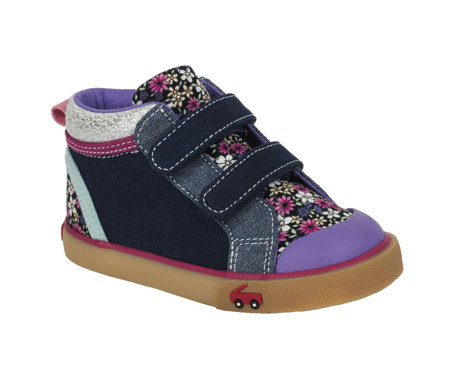 See Kai Run Kya Dark Blue/Multi Floral