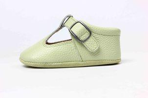 Aston Baby Shaughnessy Shoe in Sage