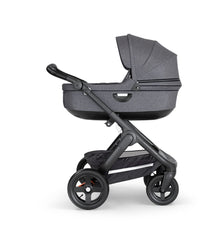 Stokke Stroller Black Carry Cot BLACK MELANGE