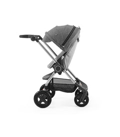 Stokke Scoot V3 Chassis + Seat (No Canopy) In Black Melange