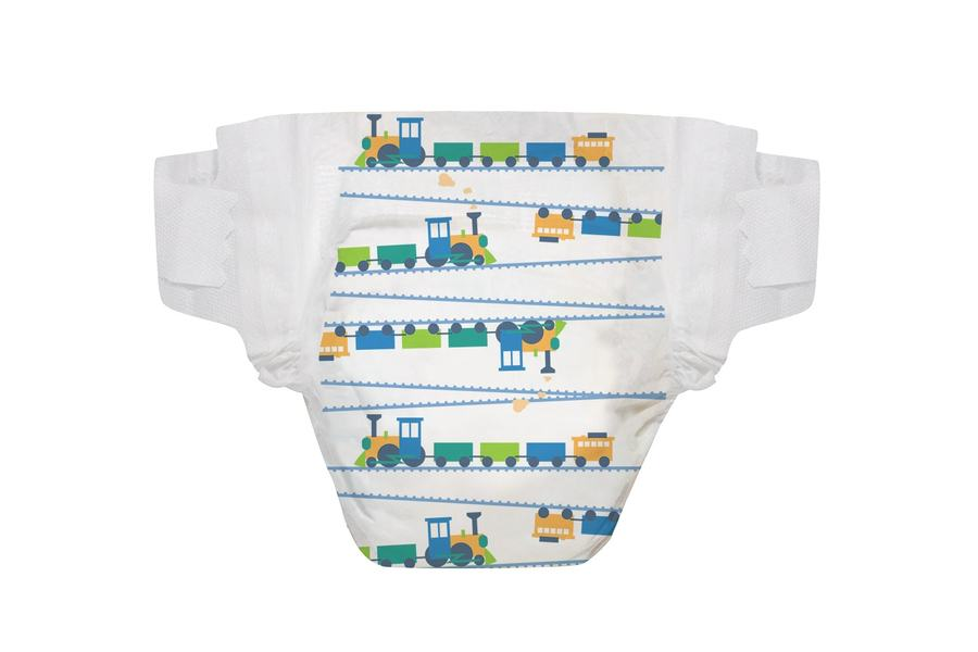 The Honest Company Diapers in Trains Size 1