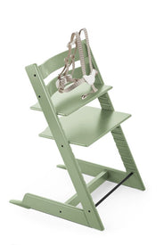 Stokke Classic Tripp Trapp Wooden High Chair in Moss Green