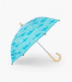 Hatley Shark Alley Umbrella in Blue