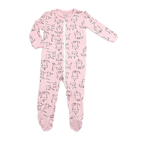 8aaa8cfd0 Silkberry Baby Bamboo Printed Footie – Lusso Kids Inc.