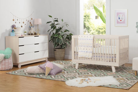 Babyletto Hudson 3-in-1 Convertible Crib with Toddler Rail