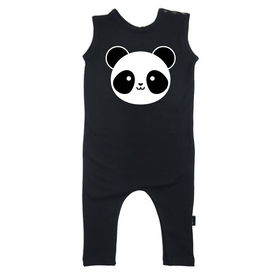 Whistle and Flute Kawaii Panda Romper