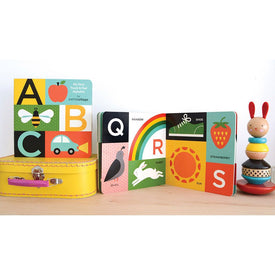 Petit Collage ABC My First Touch & Feel Alphabet Board Book