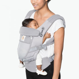Ergobaby 3 Position Adapt Baby Carrier Cool Air Mesh in Pearl Grey