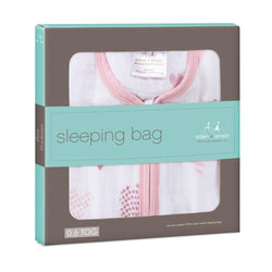 Aden + Anais classic muslin sleeping bag heart breaker