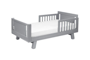 Million Dollar Baby junior bed conversion kit for hudson and scoot crib in Grey Finish