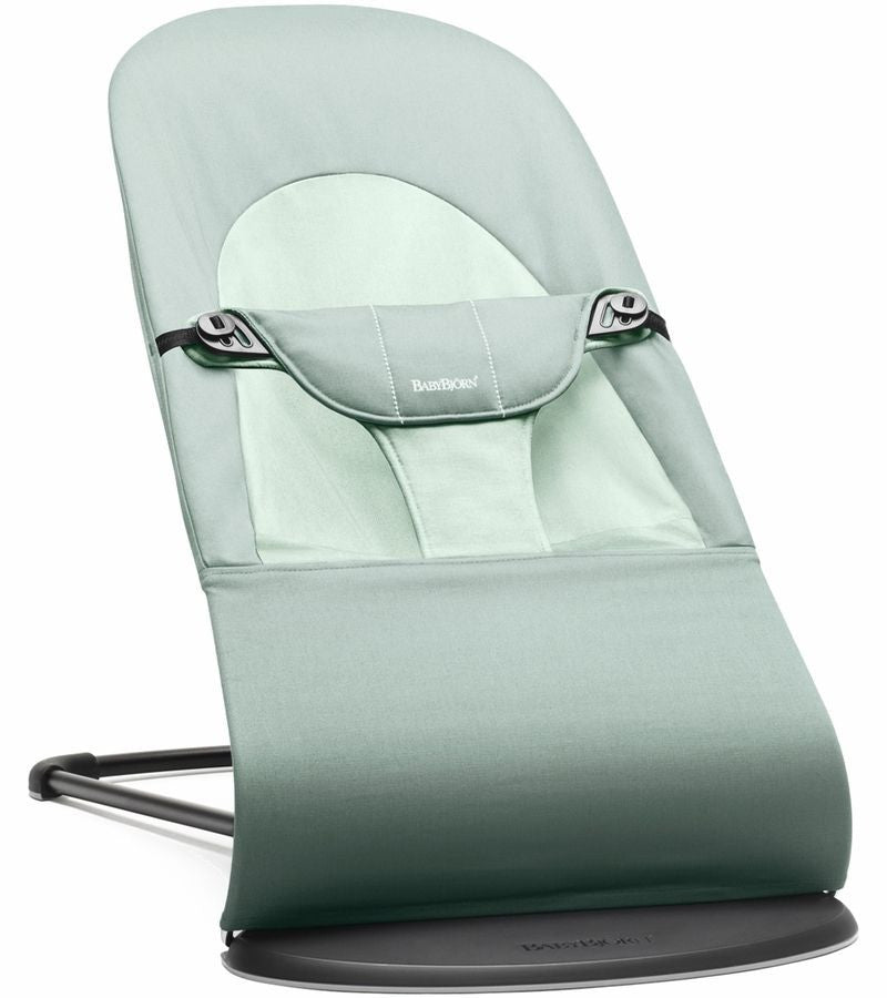 Baby Bjorn Bouncer Balance Soft in Frost Green Cotton