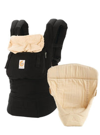 Ergo Baby 3 Position Bundle of Joy Original in Black/Camel