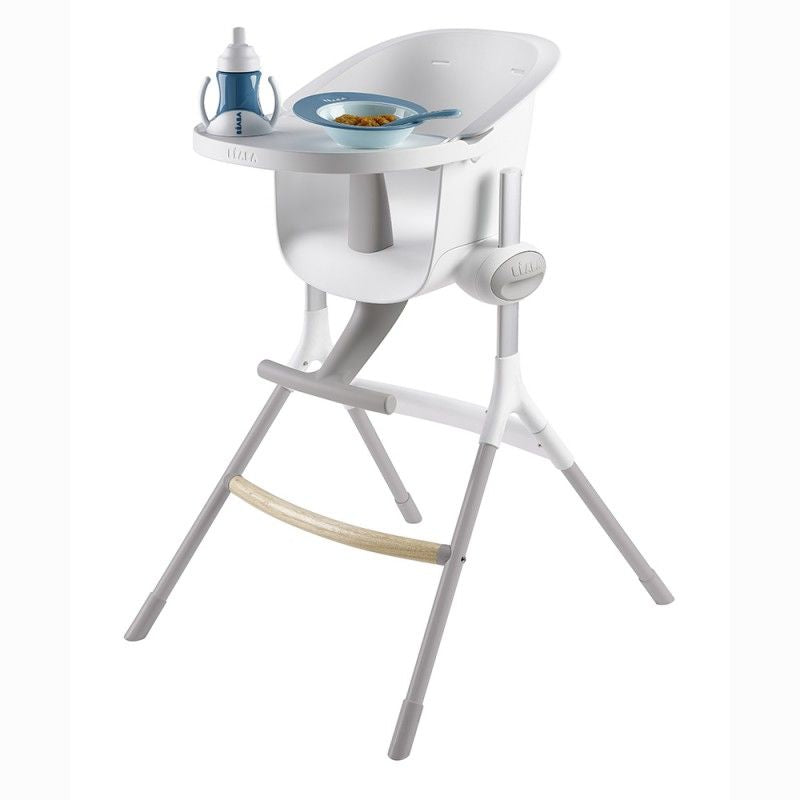 Beaba Up & Down High Chair in White