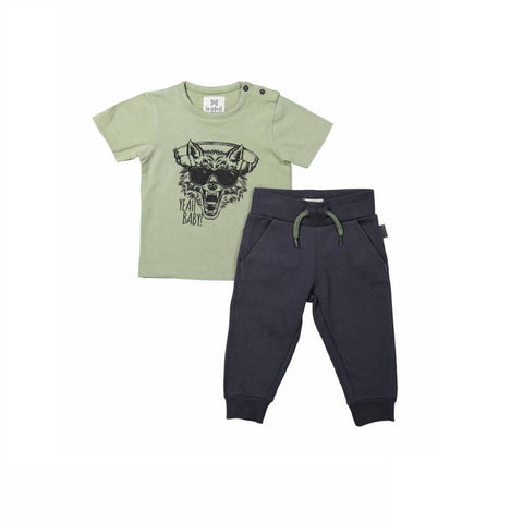 01ac8b351e4 Koko Noko Boys 2-piece set with sweatpants and T-shirt – Lusso Kids Inc.