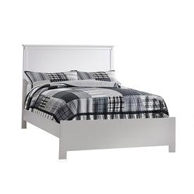 "Nest Bruges Bruges Double Bed 54"" with Low profile footboard & rails"