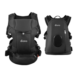 Diono Carus 4 in 1 Carrying with Backpack in Grey
