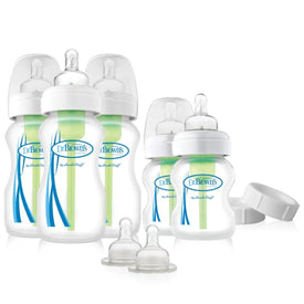 Dr Brown's PP Options Wide-Neck Newborn Feeding Set